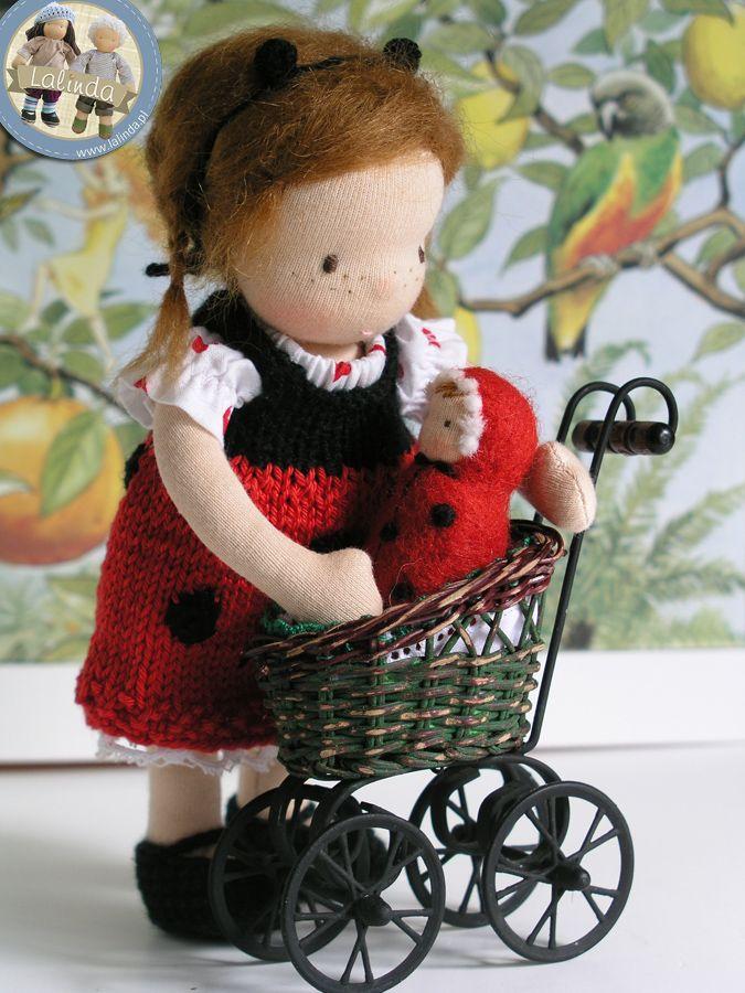 Ladybug doll by Lalinda.pl