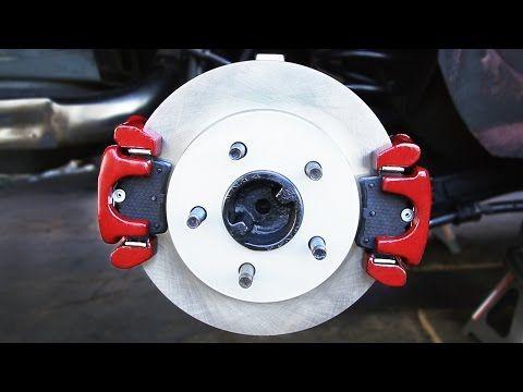How to Install Dual Brake Calipers - YouTube