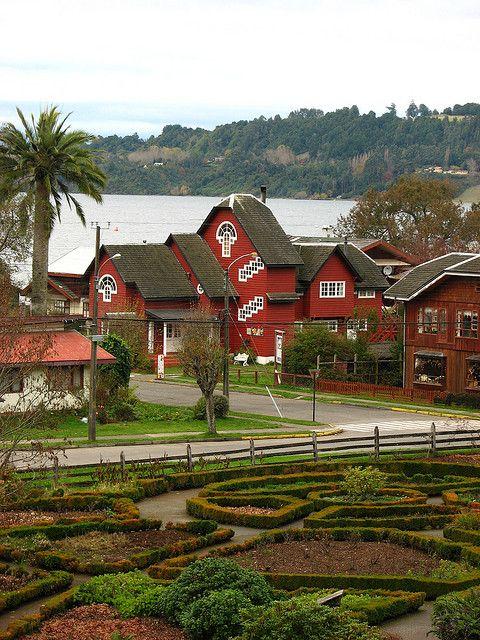 Frutillar, Los Lagos Region, Chile.