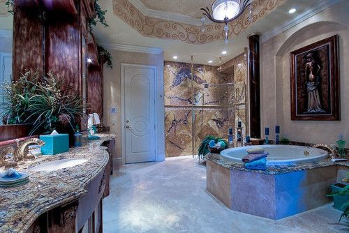 Fancy Washroom Marble Dream Bathrooms Home House