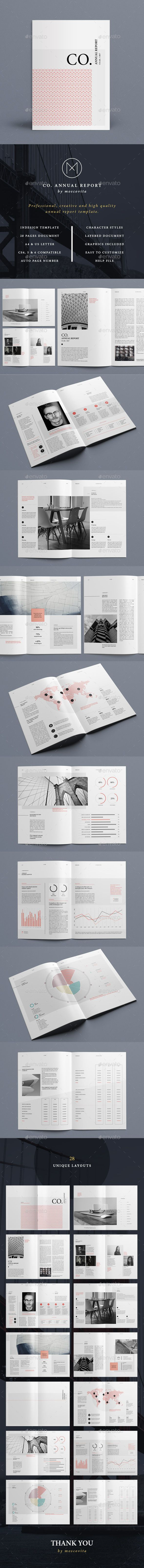 CO. Annual Report   • Available here → http://graphicriver.net/item/co-annual-report/15569044?ref=pxcr