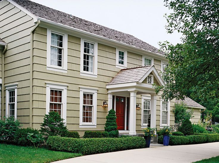 Exterior Colonial Style Homes