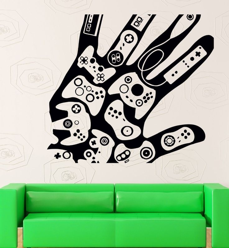 Aliexpress.com: Comprar Pegatinas de pared del vinilo videojuegos Gamer Xbox Playstation decoración de decoración de la pared fiable proveedores en Women's underwear