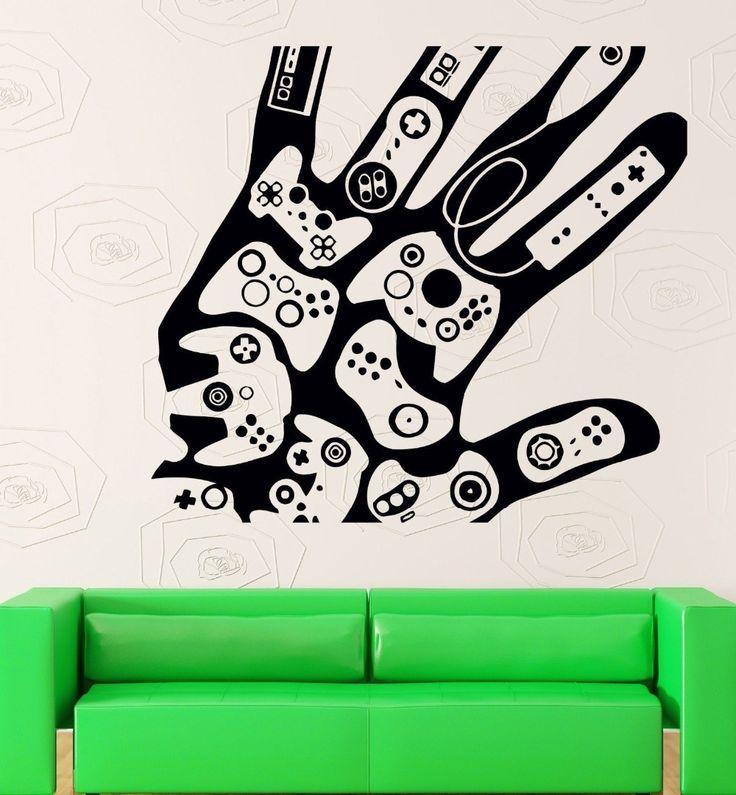 Aliexpress.com: Comprar Pegatinas de pared del vinilo videojuegos Gamer Xbox Playstation decoración de decoración de la pared fiable proveedores en Women's underwear