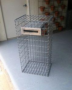 gabion cage australia letterbox design (7)
