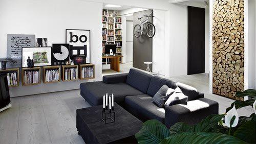 Nette mannen woonkamer | Interieur inrichting