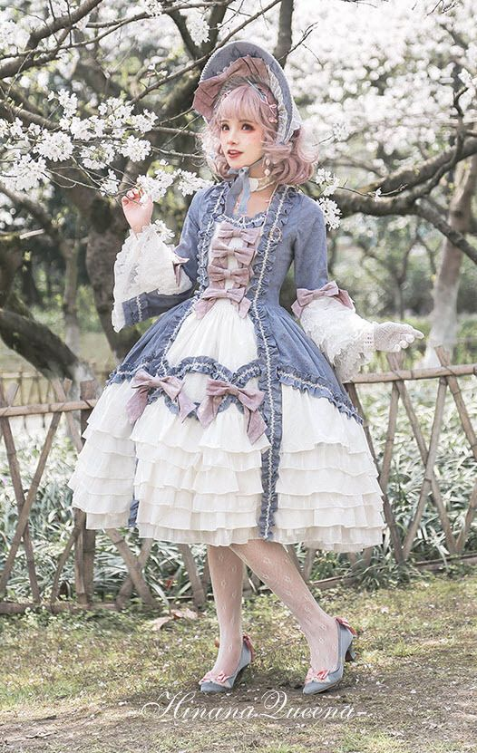 LolitaWardrobe.com — New Release: Hinana 【-Rococo-】 Vintage Classic...
