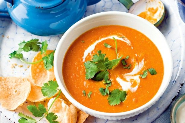 Make weeknight cooking easy with this one-pot carrot, lentil and coconut soup.