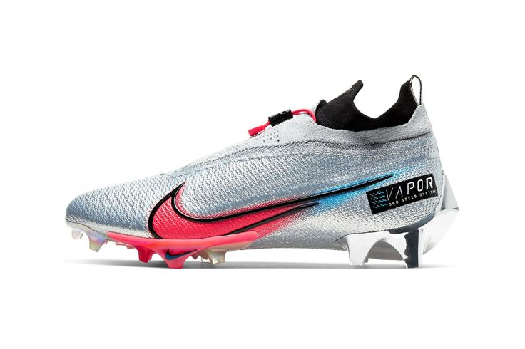 Nike S Vapor Edge Football Cleats Focus On Speed Performance In 2020 Football Cleats American Football Cleats American Football Shoes
