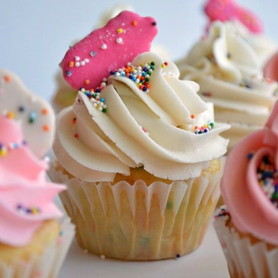 Frosted Animal Cracker Cupcakes recipe