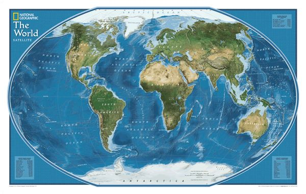 national geographic world map - Google Search