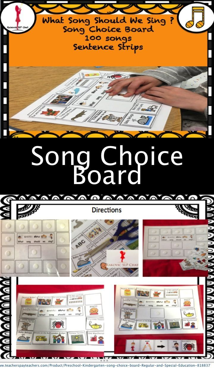 Songs are a big part of my speech and language treatment, especially for the young learner. I love to be able to empower them to make their own selections and to realize that communication is powerful. One of my products that I use daily is the song choice board. I am able to change which songs are on the card and can introduce new songs, poems, and stories. I recently updated this resource adding 20 more song/poem choices making there be 100 choices now. I have two graduate students working…