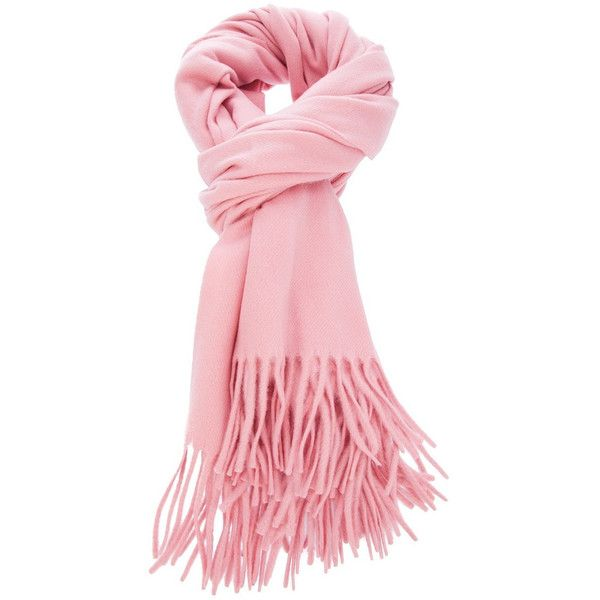 Pink Wool Scarf (1 590 UAH) ❤ liked on Polyvore featuring accessories, scarves, pink, wool shawl, woolen shawl, wool scarves, pink shawl and woolen scarves