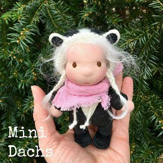 Pflanzenfaerberin * Isle of Fae * Mini Doll