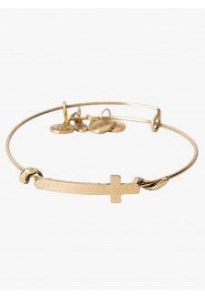 Golden Alloy Bracelet