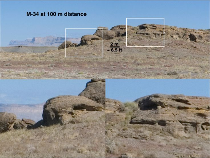 This set of views illustrates capabilities of the Mast Camera (MastCam) instrument on the Mars Science Laboratory's Curiosity rover, using a scene on Earth as an example of what MastCam's two cameras can see from different distances.