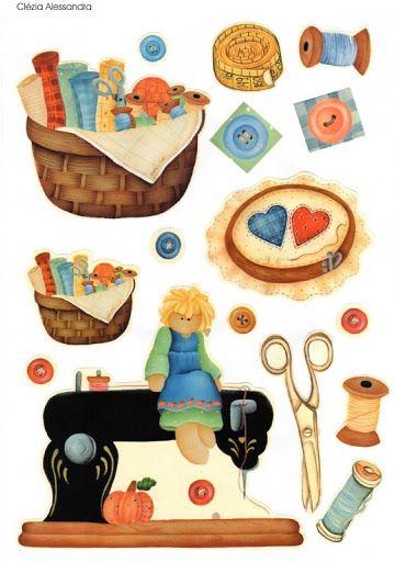 Mis Laminas para Decoupage (pág. 48) | Aprender manualidades es facilisimo.com