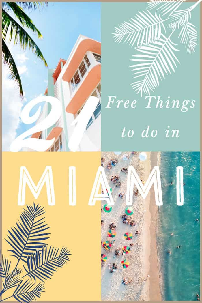 Fabulous Free Things To Do In Miami Free Things To Do Free Things Stuff To Do