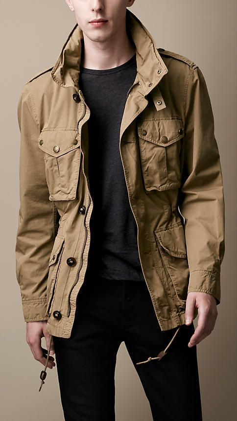 Burberry Heritage Cotton Field Jacket