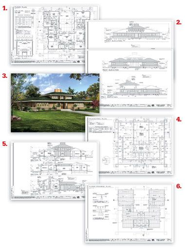 Searchable house plans , many can be purchased in CAD format so they can easily be modified.  If we ever build a home, this could be a great resource.
