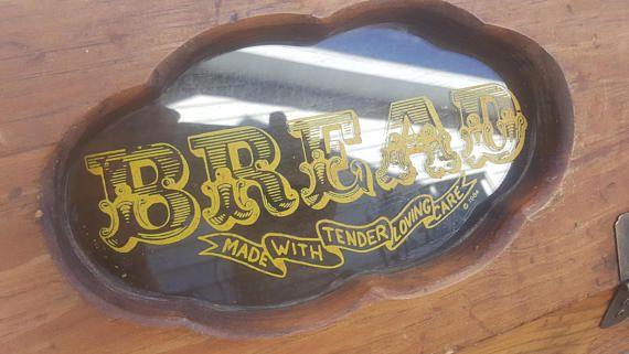 Old Bread Box, Vintage Bread Box, Wooden Bread Box, Rustic Bread Box, Distressed Bread Box, Vintage Kitchen Decor, Old Bread Boxes AK84