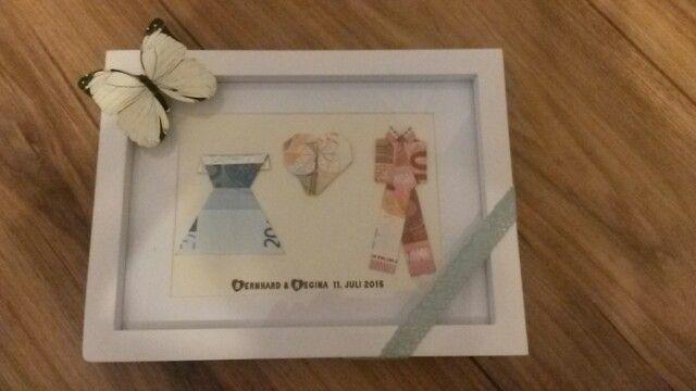 sobre Hochzeitsgeschenke Geld no Pinterest  Diy hochzeitsgeschenk ...