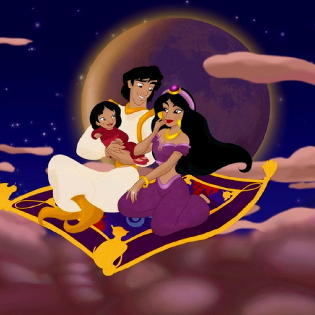Disney couples with kids