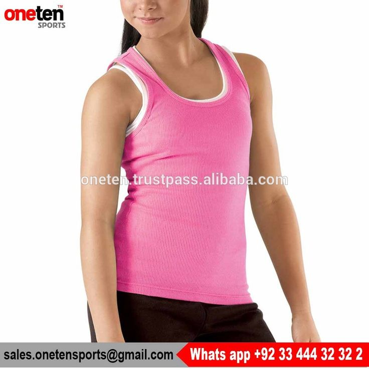 Solid Color Cheap Tank Top - One Ten Sports Women wear