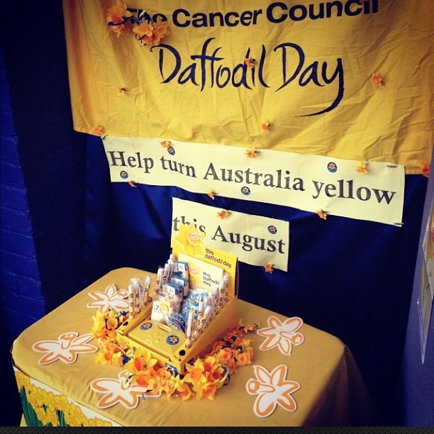 Spent my afternoon putting this together  http://www.daffodilday.com.au