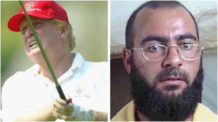 Abu Bakr al-Baghdadi - Wikipedia https://en.m.wikipedia.org/wiki/Abu_Bakr_al-Baghdadi President Trump returns to golf course – this time in Virginia   Golfweek http://golfweek.com/2017/03/26/president-donald-trump-golf-weekend-virginia/