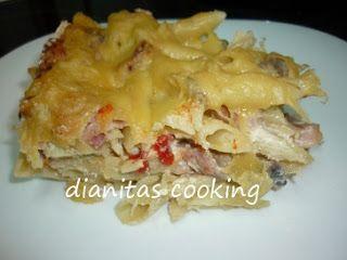 dianitas cooking: Σουφλέ Μακαρόνια