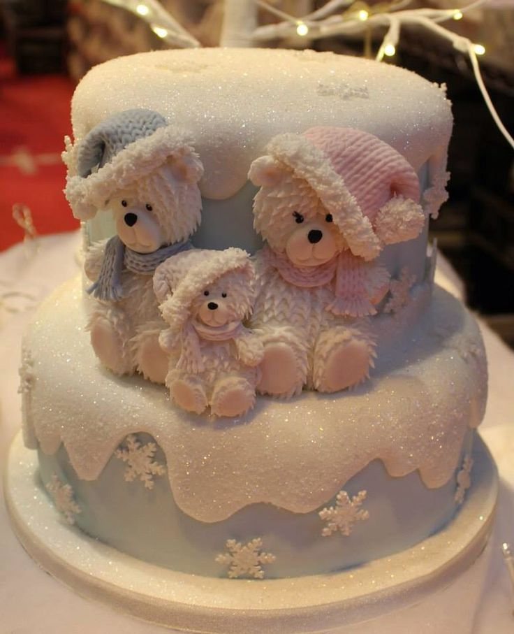 1792 best images about teddy bear cakes on pinterest