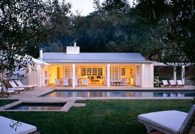 pool, pool house