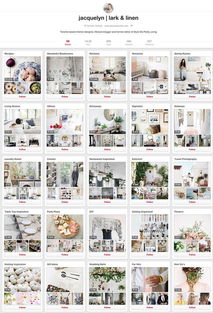 Jacquelyn Clark - 10 design accounts to follow on Pinterest