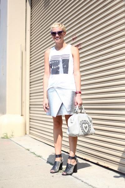 Laurel Pantin / Celebrities & Bloggers #NYFW