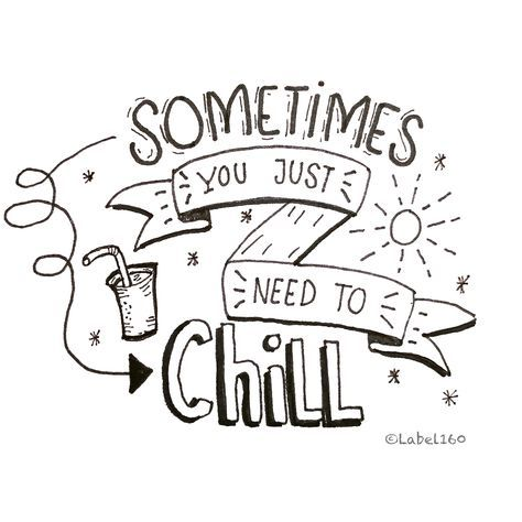 Sometimes you just need to chill~~~