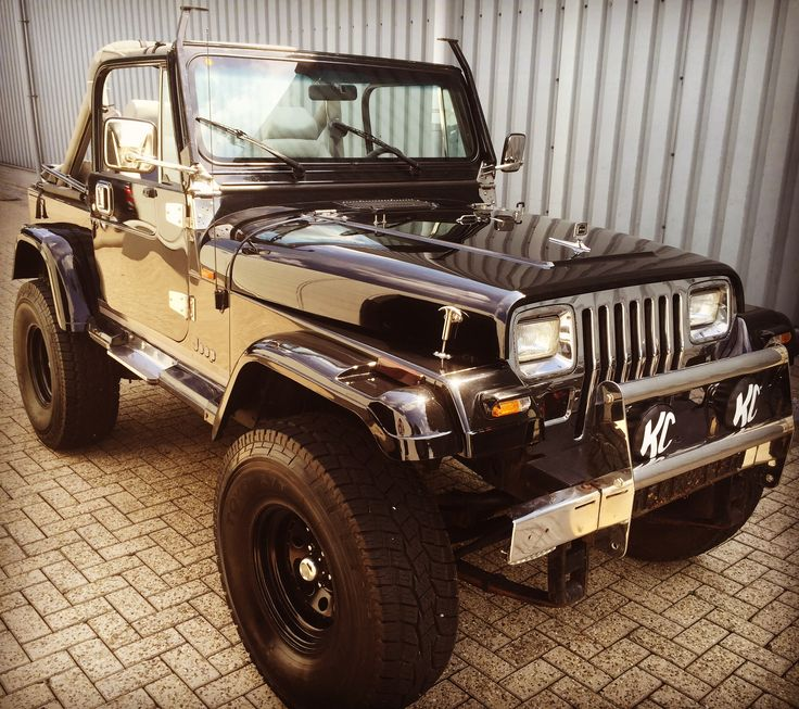1990 Jeep Wrangler YJ Oh my goodness, it's just BEAUTIFUL!!!!