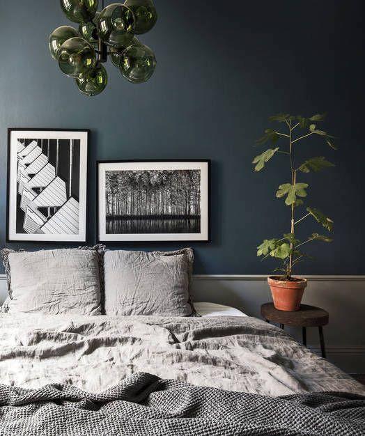 Dark and moody home - via cocolapinedesign.com
