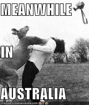 Meanwhile in Australia...                                                       …