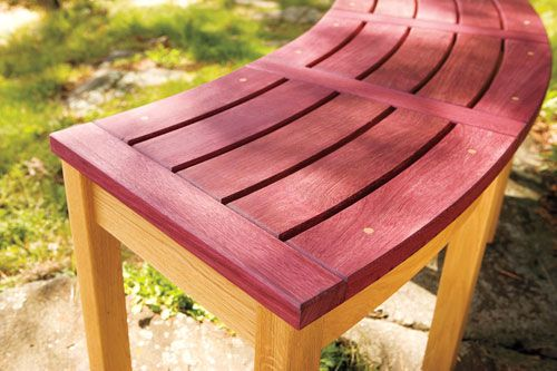 Build a campfire bench – Canadian Home Workshop