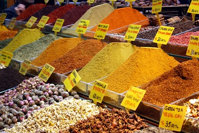 Spices at Egyptian Bazar (Istanbul)