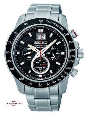 Pánske hodinky SEIKO SPC137P1 Sportura Chronograph + darček na výber