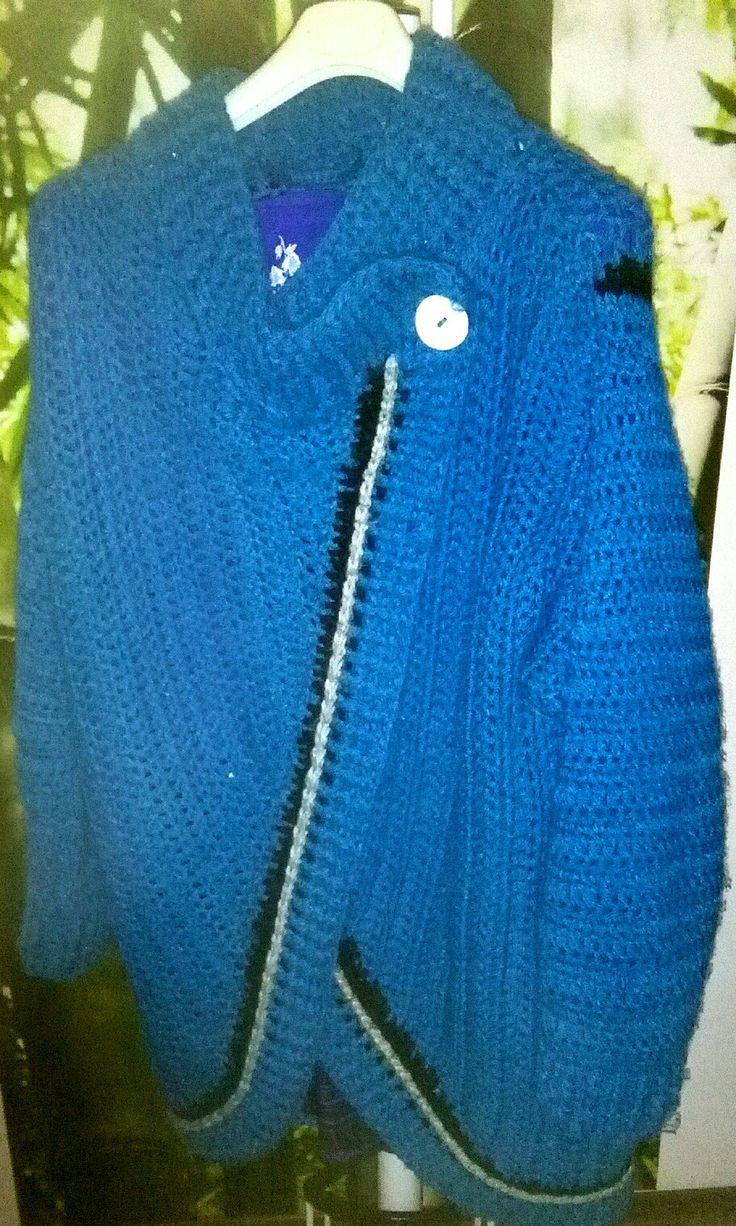 Cardigan crochet creazione gabry