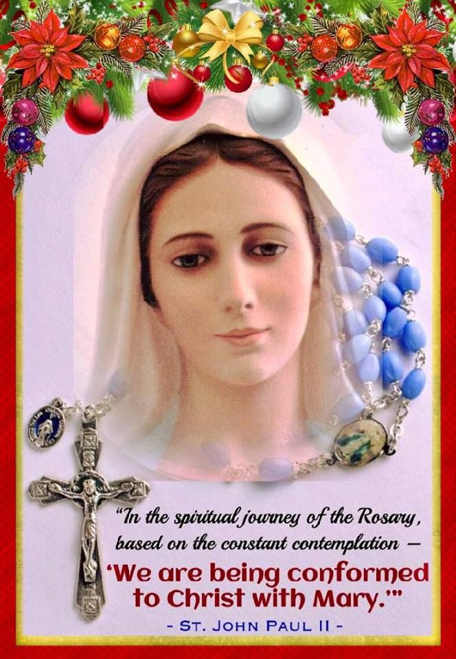 Pray the Holy Rosary daily. If you pray the Holy Rosary everyday, with a spirit of prayer and love, Our Lady will make sure She leads you very far along Her Son's path. St. Josemaria Escriva