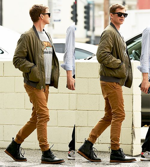 Hayden Christensen out with a friend in LA on March 7, 2016