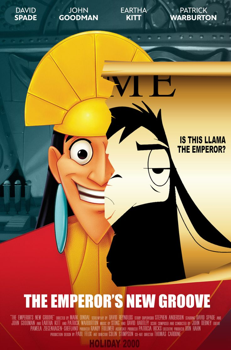 Emperor Kuzco is turned into a llama by his ex-administrator Yzma, and must now regain his throne with the help of Pacha, the gentle llama herder.