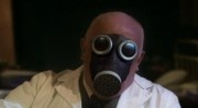 Doctor Constantine's transformation into a gas-mask zombie by the Chula nanogenes  The Empty Child (2005)