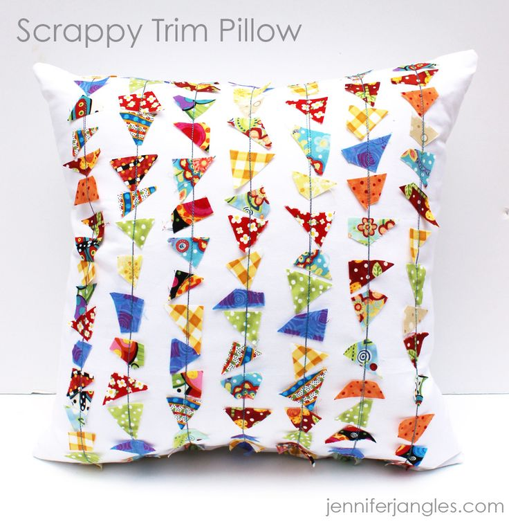 Scrappy Pillow Trim with Jennifer Jangles