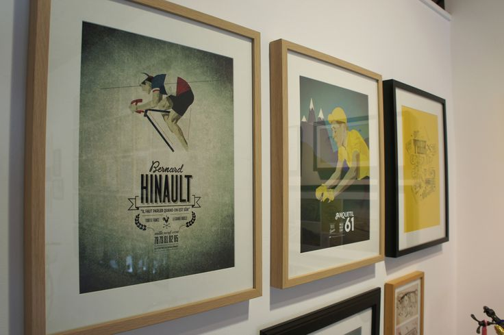 Cycles Fumant, Road Art Gallery #CyclesFumant, #graphicdesign, #cycling, #fixedgear, #poster, #bicycle, #art,