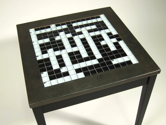 Crossword End Table & 122 best Crosswords images on Pinterest | Crossword puzzles ... 25forcollege.com
